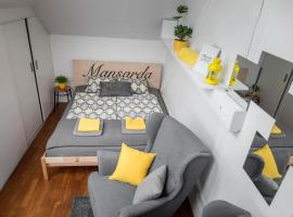 Mansarda Apartment, apartment in Ljubljana