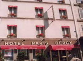 Hotel Paris Bercy, hotel near Porte de Vincennes Metro Station, Paris