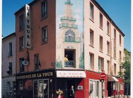Residence De La Tour Paris-Malakoff, hôtel à Malakoff