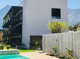 SOLeARIA residence, apartment in Riva del Garda