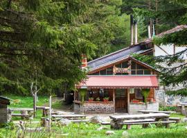 Хижа Ловна, хотел близо до Рилски манастир, Паничище