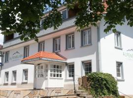 Landgasthof Alpenblick an der Wutachschlucht Südschwarzwald, hotel en Löffingen