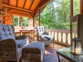 Natur Ferienhaus Trebnitzgrund - Urlaub im Wald, Hotel in der Nähe von: Schloss Kuckucksstein, Glashütte