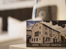 Hotel Teatro, accommodation in Kassel