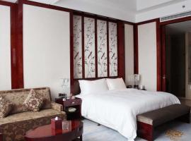 Tai Zhou International Jinling Hotel、Taizhouのホテル