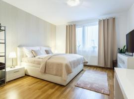 Golden Apartments Rezidence Nová Karolina, apartment in Ostrava