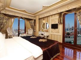 Deluxe Golden Horn Sultanahmet Hotel, hotel in Istanbul