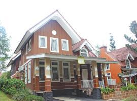 VJ Villa Kota Bunga, villa in Cianjur