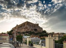 Plaka's Villa with Breathtaking Acropolis view, pet-friendly hotel in Athens