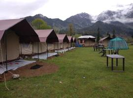 Aru Eco Resort, luxury tent in Pahalgām