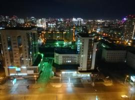 Apartment Finika4 on Frunze 49/1, hotel near Beryozovaya Roshcha Metro Station, Novosibirsk