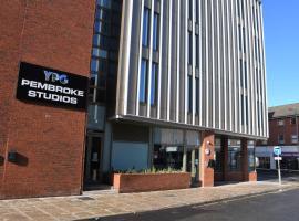 Pembroke Studios, budget hotel in Liverpool