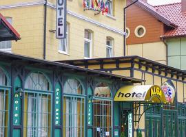 Hotel Alga – hotel w pobliżu miejsca Słowiński Park Narodowy w Ustce