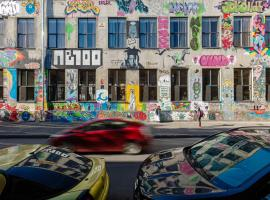 Fabrika Hostel & Suites, hotel near Tbilisi Concert Hall, Tbilisi City
