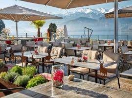 Hotel Alpenblick, отель в Веггисе