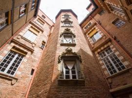 La Tour Croix Baragnon, hotel near Carmes Metro Station, Toulouse