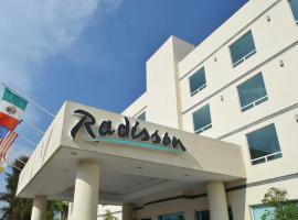 Radisson Poliforum Plaza Hotel Leon, hotel in León