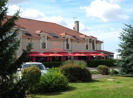 Logis Argonne Hôtel、Vouziersのホテル