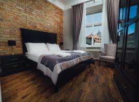 Sherlock Art Hotel, puhkemajutus Riias