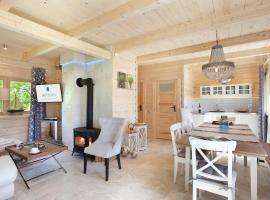 SeaUSasino - Dom Ocean - Luksusowe Drewniane Domy z Kominkami – dom wakacyjny w Sasinie