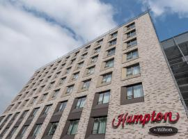 Hampton By Hilton Frankfurt City Centre East, hôtel à Francfort-sur-le-Main