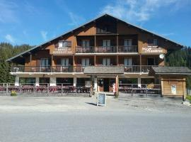 Hotel Restaurant Les Rosieres, hotel in Manigod