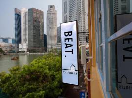 BEAT. Capsule Hostel @ Boat Quay, capsule hotel in Singapore