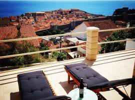 Old Town & Sea View, villa i Dubrovnik