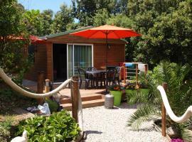 Le petit chalet, cabin in Porticcio