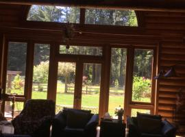 Redwood forest, country house in Crescent City