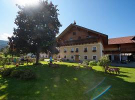 Kinderparadies Bachbauer, hotel in Mondsee