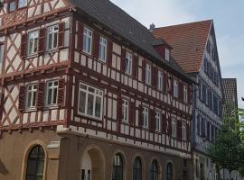 """Quartier """"Zur Alten Apotheke"""", Privatzimmer in Brackenheim"""