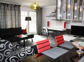 """Residenz """"Zum Kronprinzen"""" Wohnung Nr.10, hotel in Bad Saarow"""