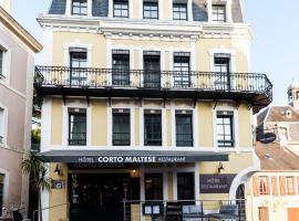 Hôtel Restaurant Corto Maltese, hôtel au Palais