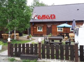 отель Емеля, pet-friendly hotel in Zelenaya Polyana