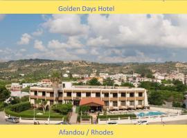 Golden days, hotel in Afantou