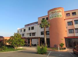 Hôtel L'Hacienda, hôtel à Châteauneuf-les-Martigues près de: Aéroport de Marseille Provence - MRS
