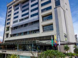 Diez Hotel Categoría Colombia, hotel in Medellín