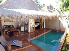 Pera ONE Villas, beach hotel in Gili Trawangan