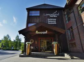Lampeland Hotel, hotell i nærheten av Gaustatoppen i Lampeland