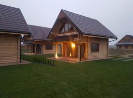 Wakacyjna osada, cabin in Jezierzany