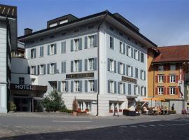 Hotel Metzgern, hotel in Sarnen