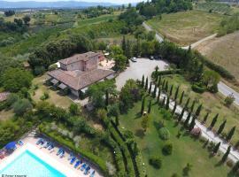 Antico Borgo Il Cardino, country house in San Gimignano