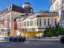 Hotel Continental, wellness hotel v destinaci Mariánské Lázně