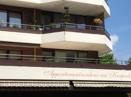 Appartementresidenz am Kurpark - Ferienwohnung mit Pool, hotel with pools in Bad Salzuflen
