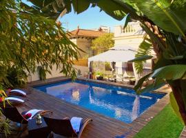 Villa Victoria Barcelona, hotel with jacuzzis in Barcelona