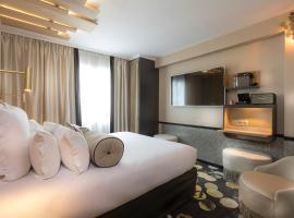 Hotel Du Cadran, отель в Париже, рядом находится Эйфелева башня