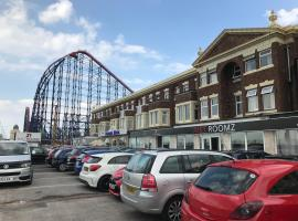 Just Roomz - By The Beach, hotel near Sandcastle Waterpark, Blackpool