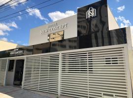 New Concept Hotel, hotel em Goiânia