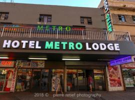 Metro Hotel Marine Parade, lodge in Durban
